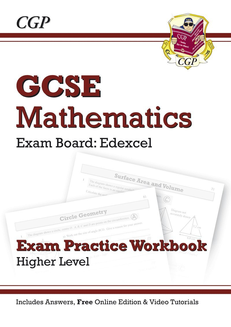 GCSE Maths Edexcel Exam Practice Workbook with answers & online ...