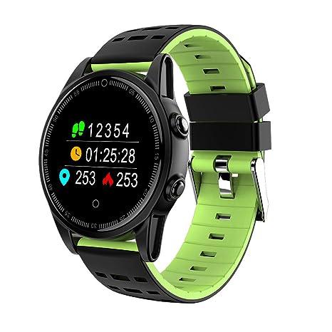 Amazon.com: Reloj inteligente Bluetooth para Android e iOS ...
