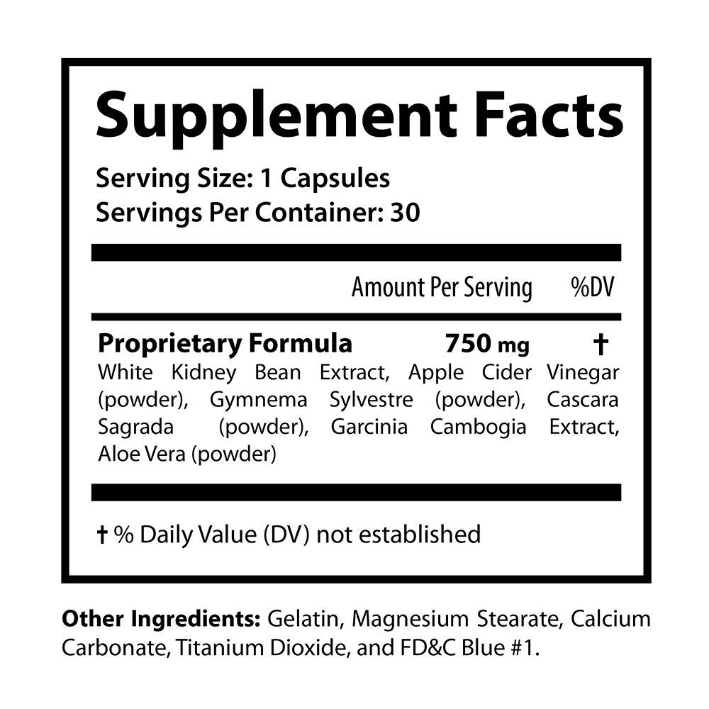 Sletrokor Diet Pills - 3 Bottles - Extra Slim Formula - Metabolism Booster - Made in USA by Sletrokor Diet Pills (Image #1)