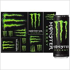 【ドリンクの新商品】モンスターエナジー 缶 (オリジナルステッカー付) 355ml×24本