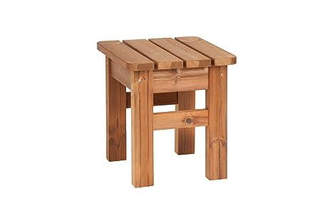 Prowood sgabello da giardino zk in legno massiccio thermowood