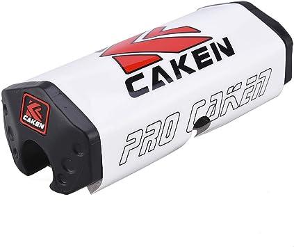 PRO CAKEN 28mm 1-1//8 Handlebar Fat Bar Pad Pit Dirt Bike Motocross CRF RMZ YZF Red