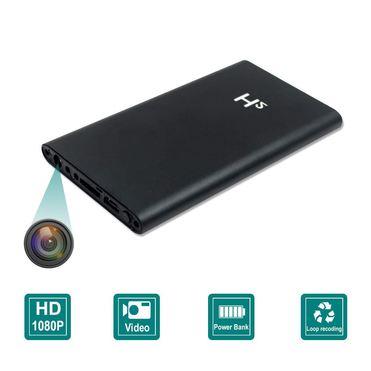 Power Bank Spy Hidden Camera Night Vision HD 1080P DVR WIFI Recorder 5000mAh US