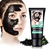 Blackhead Remover Mask-Facial Black Mask,Peel Off Mask,Moisturizing,Brightening,Hydrating Face Mask with Volcanic Soil For All Skin Types-60 Gram