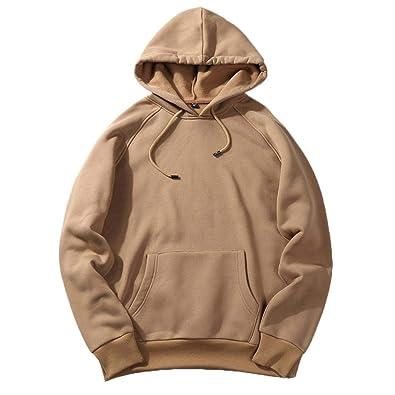 5e5f4b74a60e2 Amazon.com: Amiley mens hoodies,New Men's Solid Hip Pop Fleece Hooded Hoody  Sweatshirt Loose Fit Teenager Hoodies: Shoes
