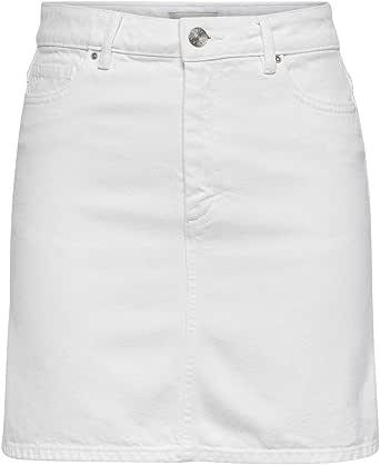 Only Onlrose A-Shape Color Skirt Pnt Falda para Mujer