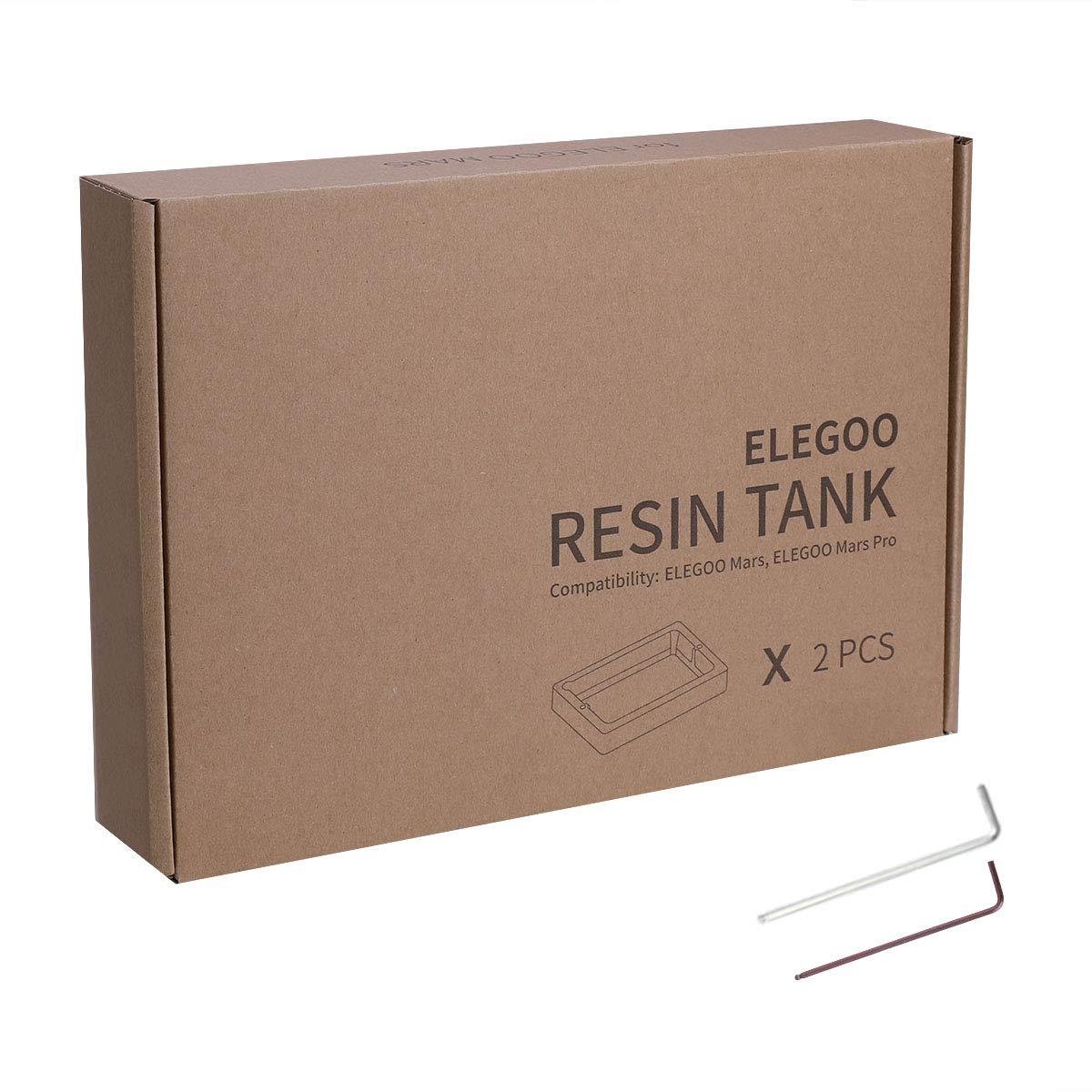 ELEGOO 2 PCS Plástico Tanques de Resina para Impresora 3D ELEGOO ...
