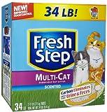 Fresh Step Multi-Cat Scented Litter – 34 lb, My Pet Supplies