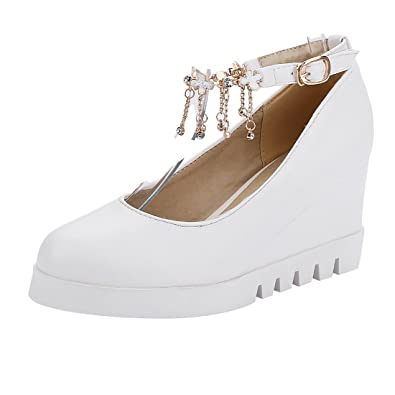 Femmes Hauts Chaussures Talons UH Avec Escarpins Compensés Talons SOwPxqaxZT