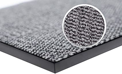 wellmax Barrier Mats - Heavy Duty, Non Slip Backing - 4 Colours- Indoor/Outdoor (Grey-Black, 60 x 90 cm): Amazon.co.uk: Kitchen & Home