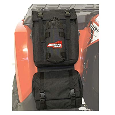 American Trails ATV Fender Bag Black: Automotive