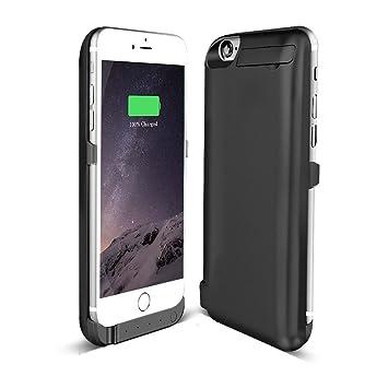 Mini kitty Externos 5800 mah batería Funda Cargador Para Apple iphone 6 6S 4.7 negro