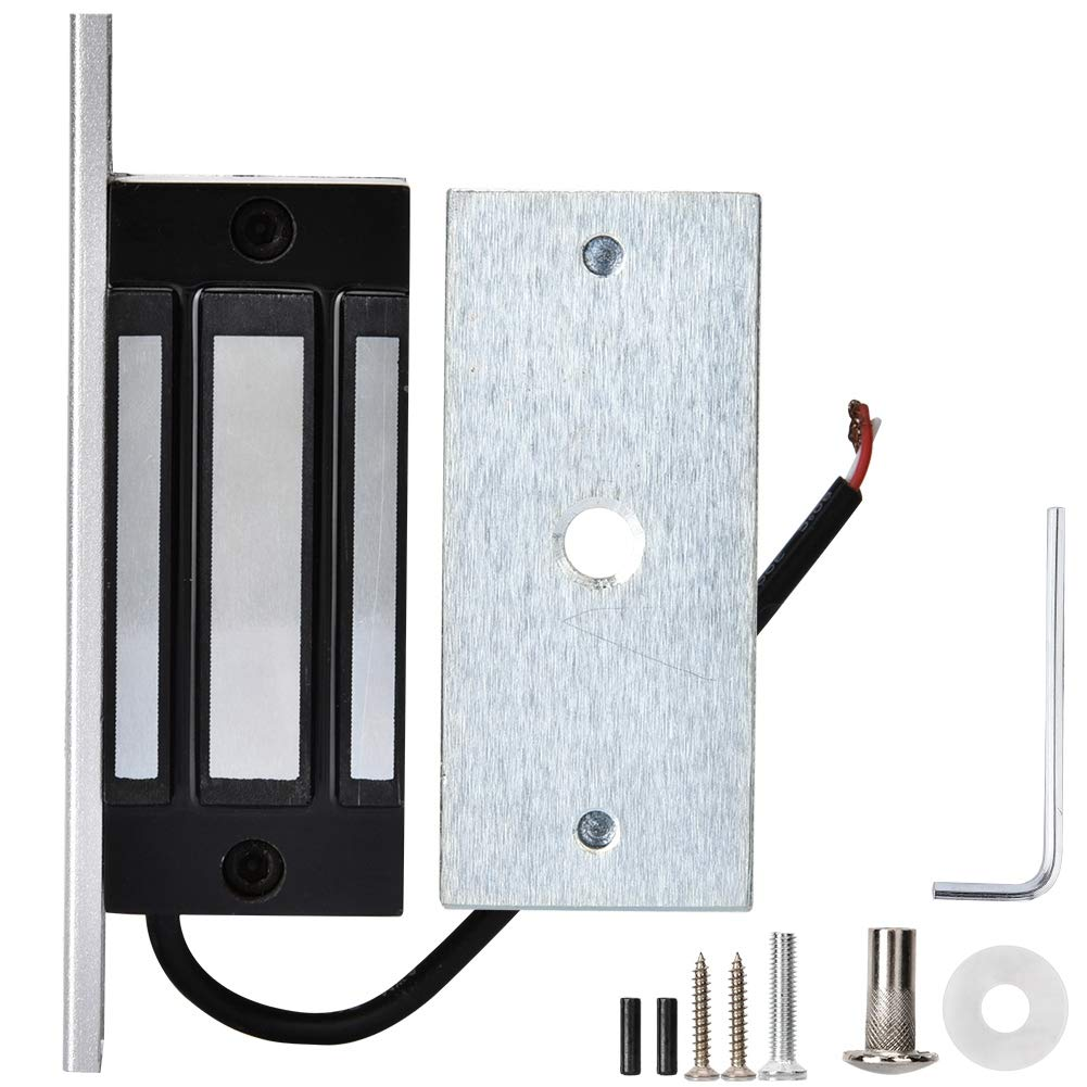 DC12V 60KG Mini Magnetic Lock Electronic Door Access Control Magnetical Remote Control Kit for Cabinet Drawers Electromagnetic Lock