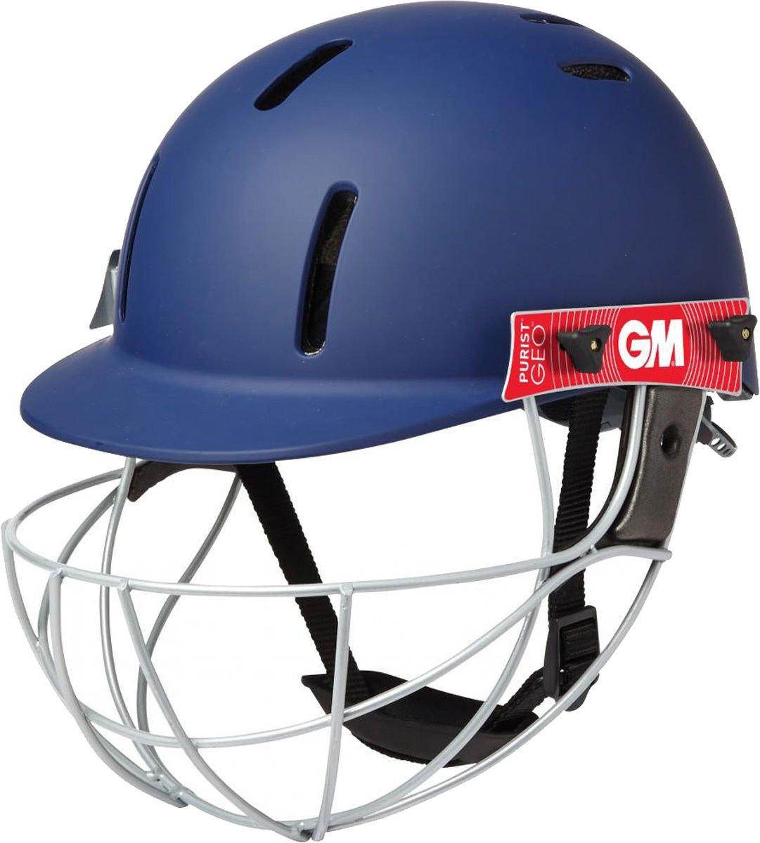 Gunn /& Moore Purist Geo Cricket Helmet Batsman Protection Size Jnr /& Snr