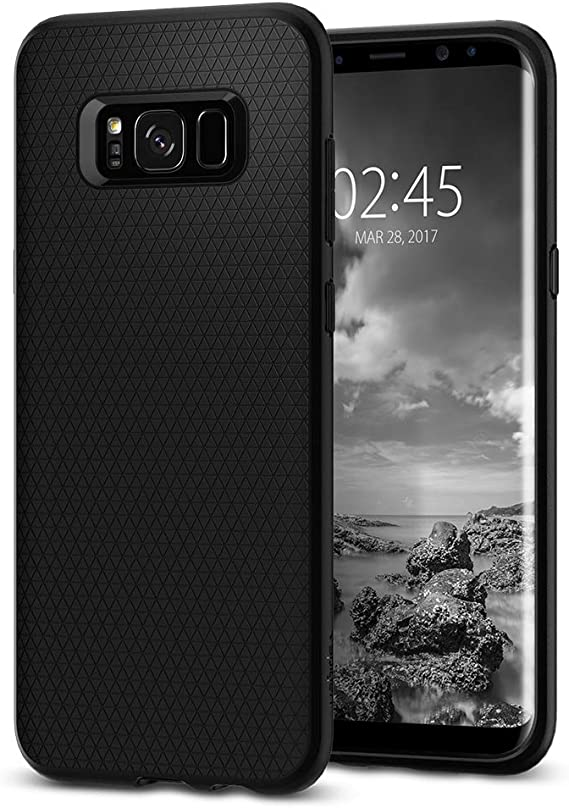 Spigen Funda Samsung Galaxy S8, [Liquid Air] Durable Flex y Easy ...