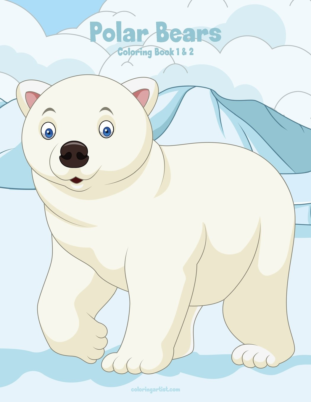 Polar Bears Pictures To Print - Coloring Home | 1360x1051