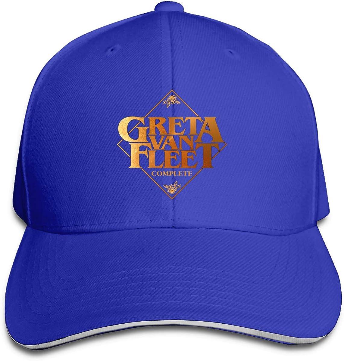 Greta Van-Fleet Adjustable Sports Hats Sun Hat for Men and Women