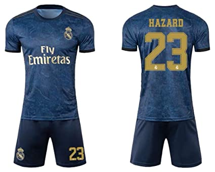 official photos 9c053 8d1af Amazon.com : STHIY 2019-2020 Real Madrid Eden Hazard NO.23 ...