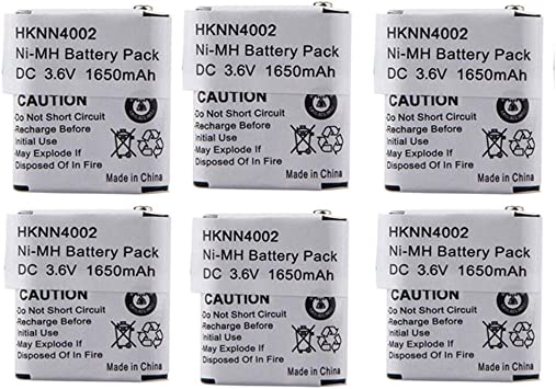 4x HKNN4002 HKNN4002A Battery for MOTOROLA FV300 FV500 FV600 FV700 FV800 Series
