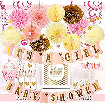Amazon Baby Shower Decorations Baby Shower Its A Girl