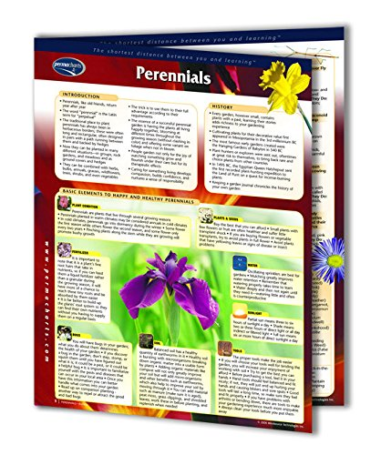 Perennials - Home and Garden Quick Reference Guide by Permacharts (Planting Chart compare prices)