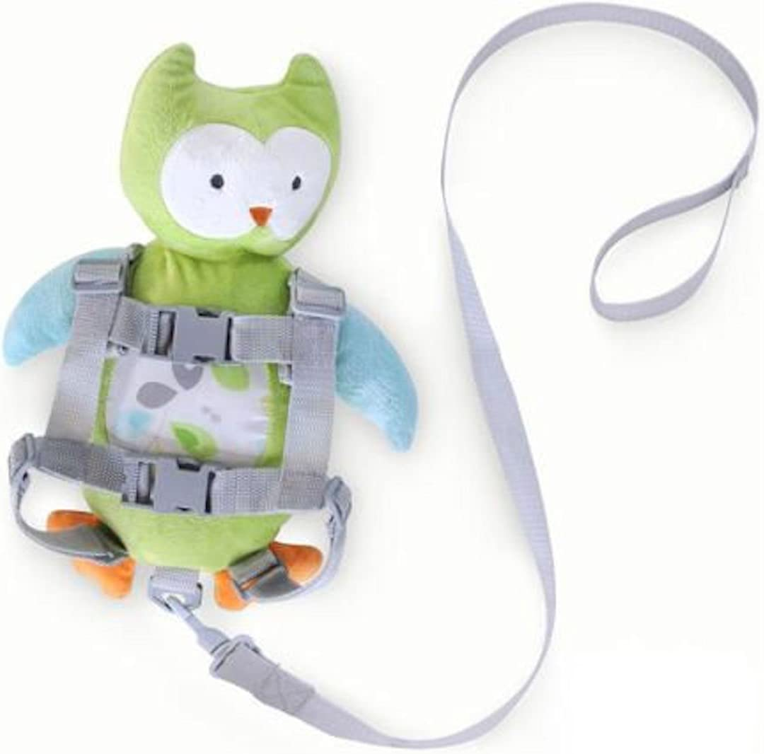 Carter s Child of Mine 2-in-1 Harness Buddy- Green Owl