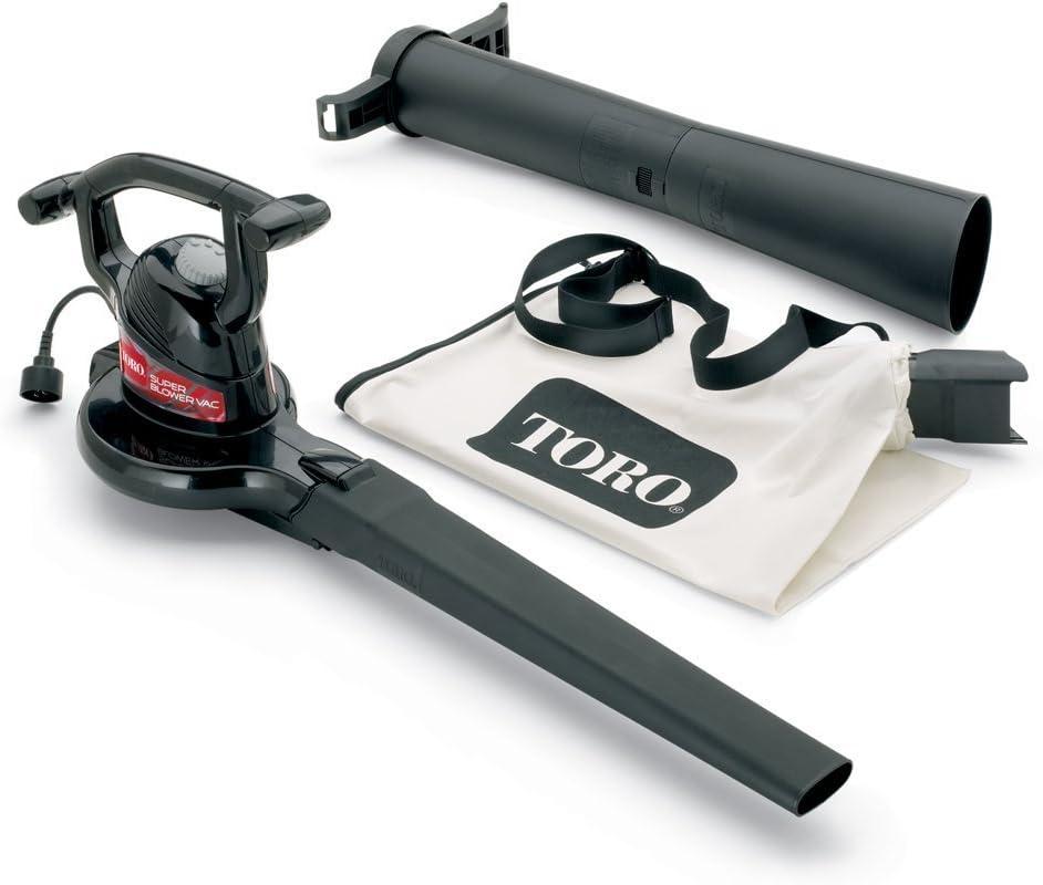 Toro 51592 Super 12 amp 2-Speed Electric Blower/Vacuum(Older Model)