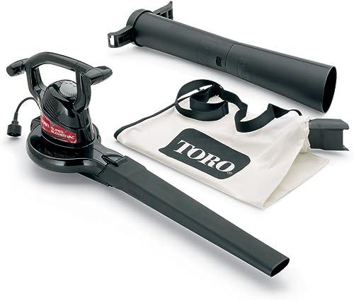 Toro 51592 Super 12 amp 2-Speed Electric Blower Vacuum Older Model