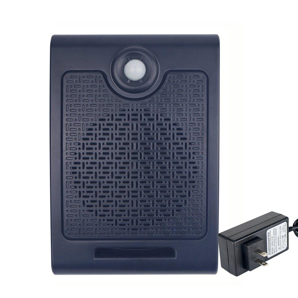 Wall Mount High Power PIR Motion Sensor Halloween Scream Box Sound Amplifier Speaker with USB Port Support SD Card Playback