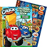 chuck toy truck - Tonka Chuck & Friends Jumbo Coloring Book with Stickers (144 Pages)