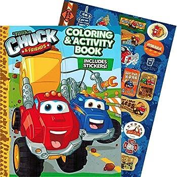 tonka chuck friends jumbo coloring book with stickers 144 pages - Jumbo Coloring Book