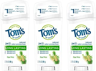product image for Tom's of Maine Long-Lasting Aluminum-Free Natural Deodorant for Women, Tea Tree, 2.25 oz. 3-Pack