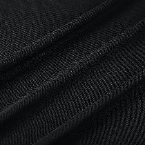 Camicetta T Cavo Donna Maglietta Maglione Pullover Ragazza Blusa Benda Cappuccio Casual Tops Maglia Felpe XXL Weant Sexy Nero Elegante Magliette Da Maniche Lunghe Top Donna shirt Girocollo S Rwx8qv6