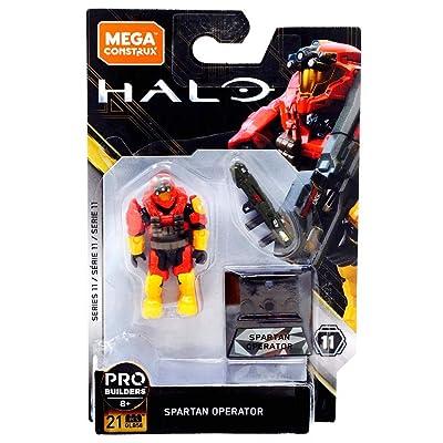 Mega Construx Halo Heroes Probuilder Series 11 Spartan Operator Figure: Toys & Games