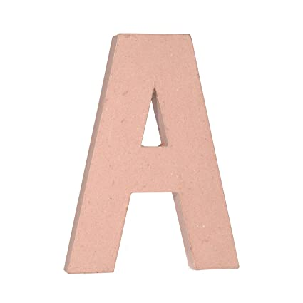 Amazon.com: Bulk Buy: Darice DIY Crafts Paper Mache Letter A 12 x