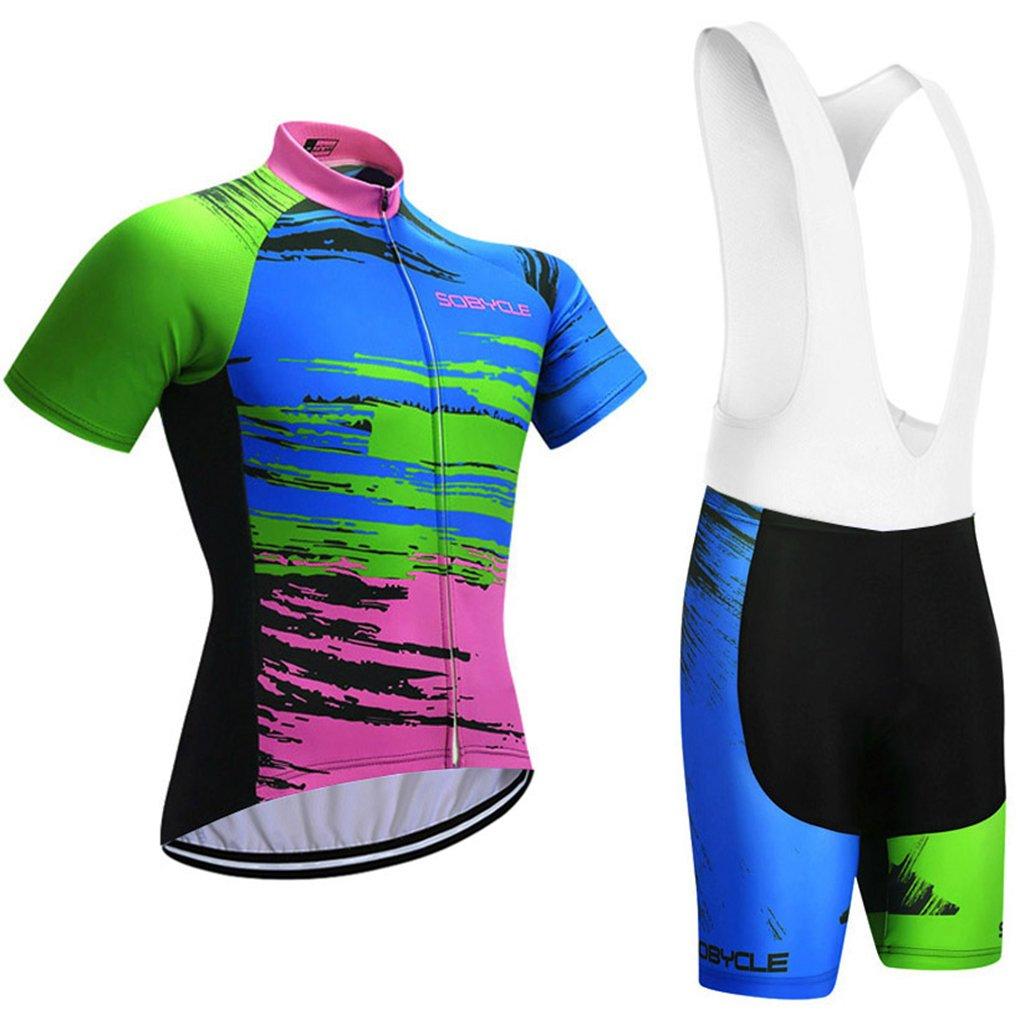 Cycling Jersey Clothing 9D Gel Pad Summer Bicycle Wear Bib Bike Shorts Set
