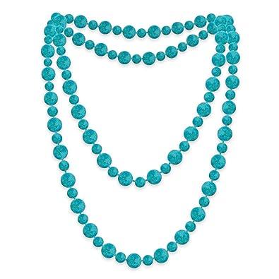 52d919136a6f SoulCats 1 perla Maxi moda Kette Todo grün Velour rosa türkis largo ...