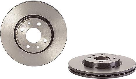 Brembo 09 5843 11 Coated Disc Line Bremsscheibe Paar Auto