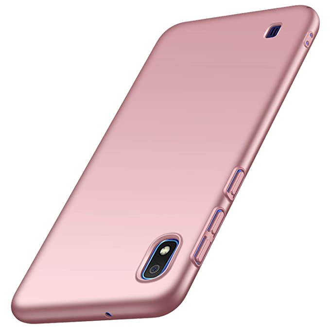 Kqimi Case for Galaxy A10 [Ultra-Thin] Premium Material Slim Full Protection Cover for Samsung Galaxy A10 2019 (Rose Gold)