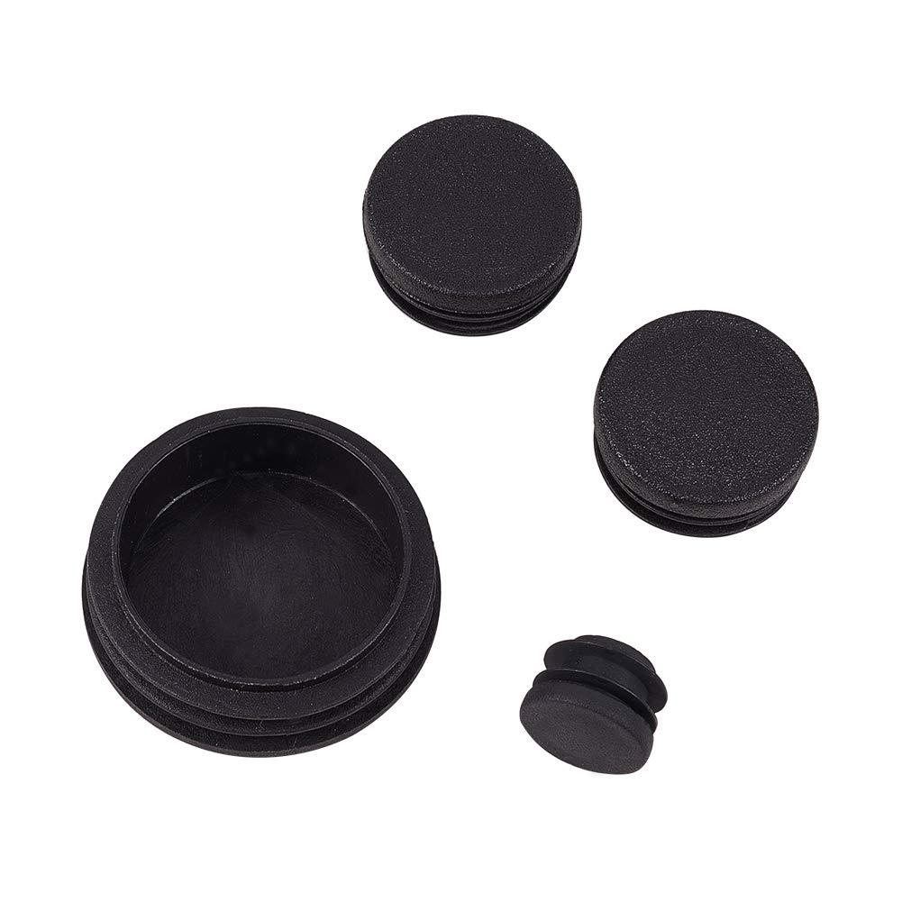 Tap/ón de pl/ástico redondo para colocar en el suelo de muebles INCREWAY reduce el ruido