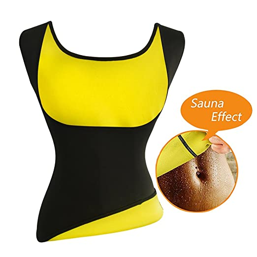 c3ef756af8153 Women s Hot Sweat Slimming Neoprene Shirt Vest Body Shapers for Weight Loss  Fat Burner Tank Top
