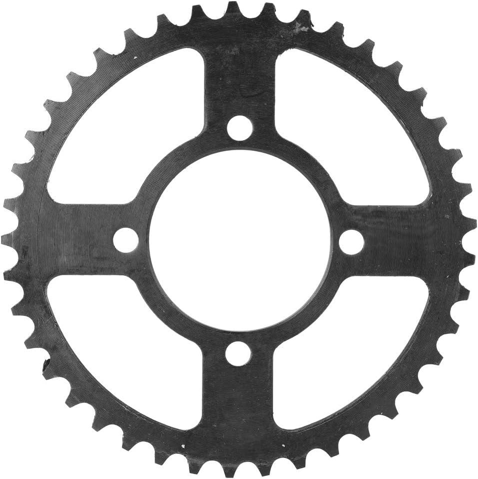 SolUptanisu Piñón de Cadena de Triciclo, aleación de Aluminio 41 Dientes 4 Agujeros Cadena de Rueda Rueda Dentada Piñón Cadena de piñón Accesorio para Triciclo eléctrico