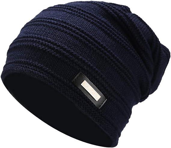 riou Sombrero para Hombres Mujeres, Invierno Además de Sombreros ...