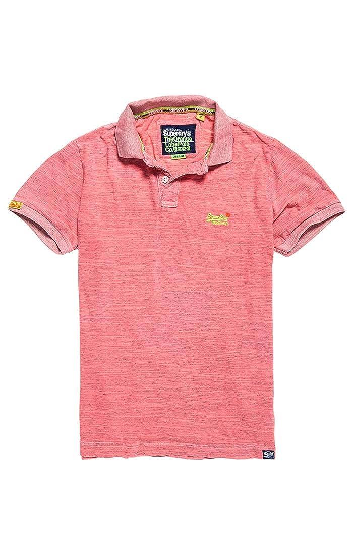 Superdry Orange Label Jersey Polo Hombre: Amazon.es: Ropa y accesorios