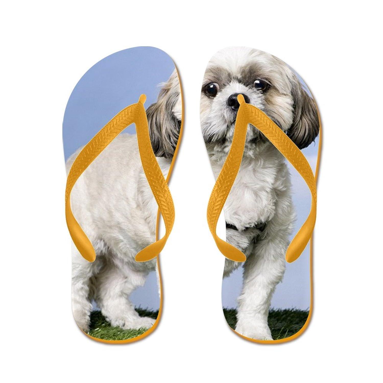 392f2863b1e7 CafePress Shih TZU (5 Years Old) - Flip Flops