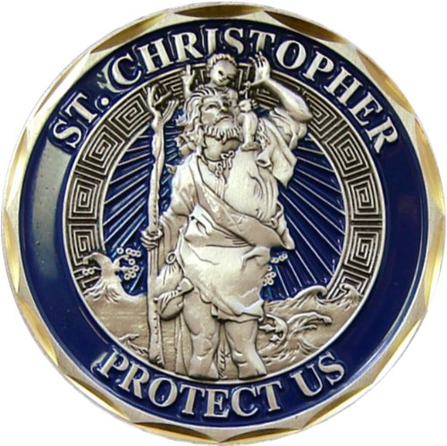 Top 10 best st christopher coin for men for 2020