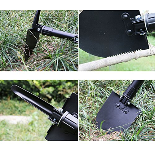 Military Folding Shovel Gardening Shovels Tactical Military Entrenching Tool for Camping and Snow