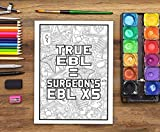 Anesthesia Life: A Snarky Coloring Book for