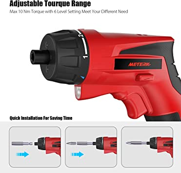 Meterk Cordless Electric Screwdriver 1500mAh featured image 3