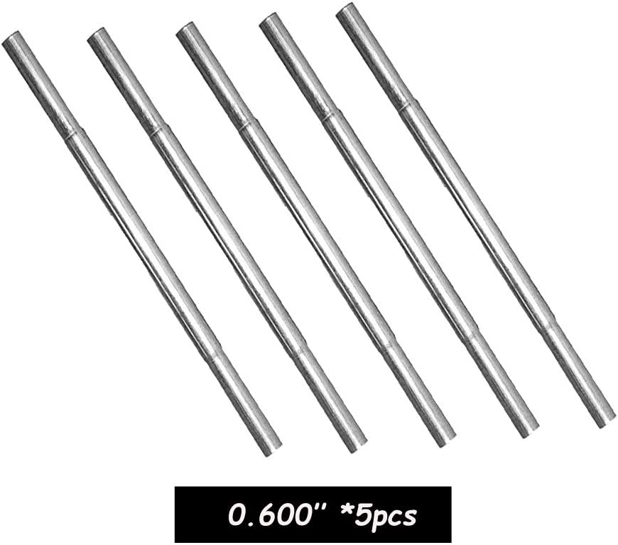 Golf Steel Shaft Butt Extension Extender 0.580 '' / 0.600 '' 1pc 5pcs 10pcs